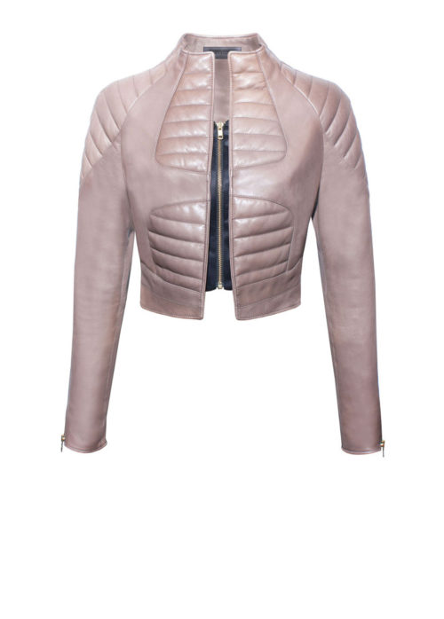 Luxus Bomberjacke Damen von Designer Stefan Eckert aus Hamburg, leather-Bomber-Jacket-women